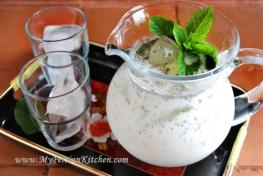 A glass of Doogh for you? (photo courtesy of MyPersianKitchen.com)
