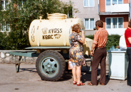The Kvass Truck (photo courtesy of Wikimedia)
