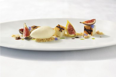 A plate from Chef Thomas Keller